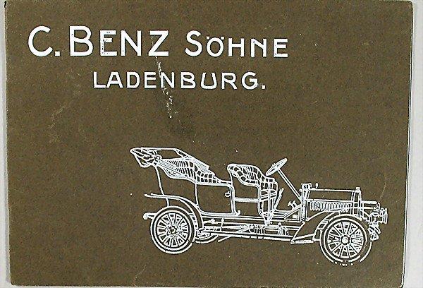 1425:  Description English:   C. BENZ SÖHNE LADENBURG a