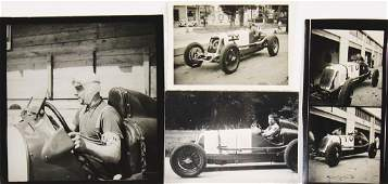 MASERATI mixed lot of 5 original BW photos Maserati