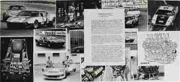 DE TOMASO mixed lot of 13 original BW photos De
