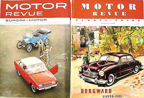 "1: magazine ""MOTOR REVUE"" issue 2 - 12, issue 15 - 20,"