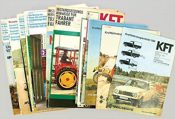 "4: magazine ""KFT KRAFTFAHRZEUGTECHNIK VEB"" Verlagstechn"