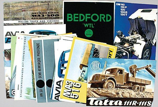 6: original brochures and catalogs, utility vehicles, d