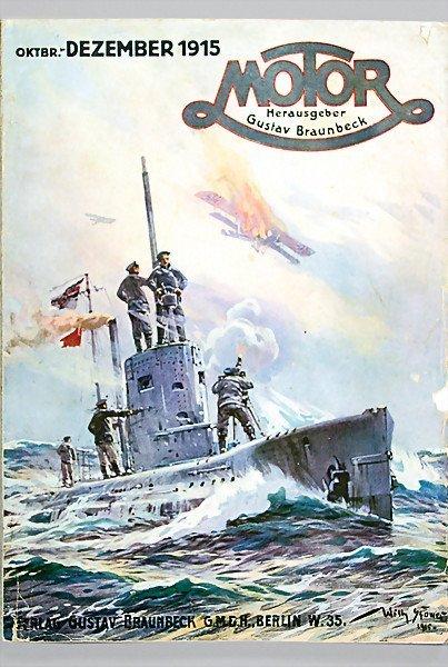 "9: magazine ""MOTOR"" publisher Gustav Braunbeck, edition"