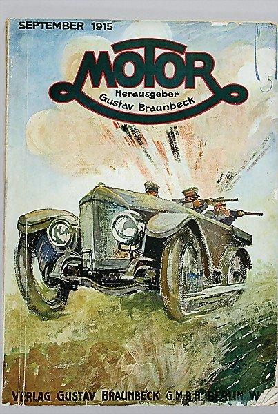 "10: magazine ""MOTOR"" publisher Gustav Braunbeck, Septem"