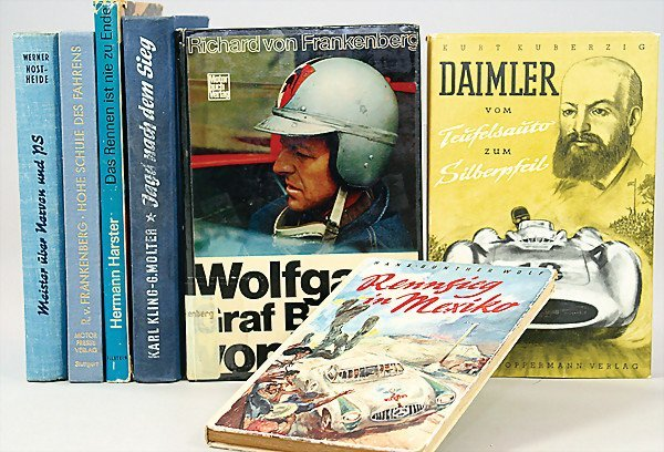"""16: mixed lot of 7 pieces, books, 1x """"Hohe Schule des F"""
