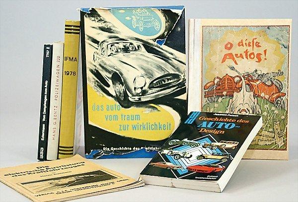 "18: mixed lot of books, 7 pieces, 1x ""Die elektrische A"