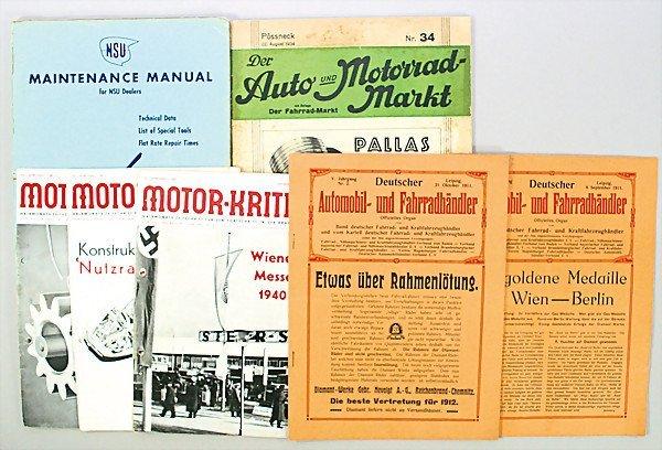 "20: mixed lot of magazines, ""Deutsche Automobil- und Fa"