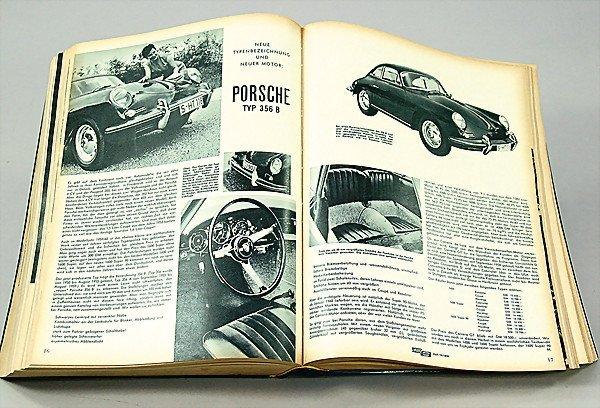 """22: magazine """"das Auto Motor und Sport """" year 1959 comp"""