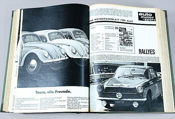 """23: magazine """"Auto Motor und Sport"""" year 1963, edition"""