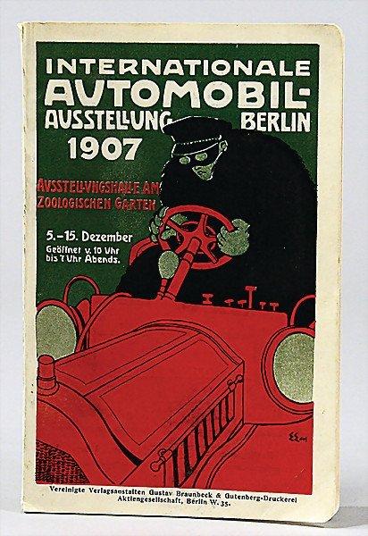 563: international automobile exhibition Berlin 1907, e
