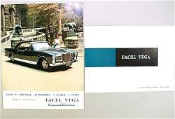 1226: FACEL VEGA EXCELLENCE 1x flyer, DinA4, type 125 M