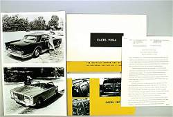 1230: FACEL-VEGA type Phantom Thyphoon, '60s, 2 large-f