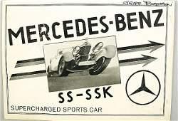 1404: MERCEDES-BENZ GB 1932, folder, Mercedes SS/ SSK,