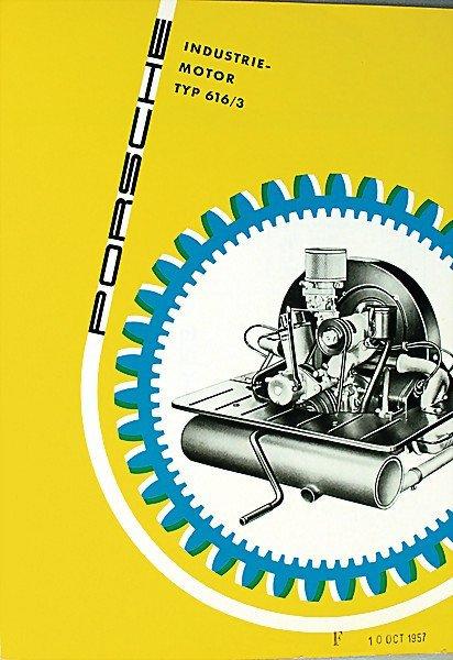 1604:  PORSCHE D 1957, brochure, Porsche industrial eng