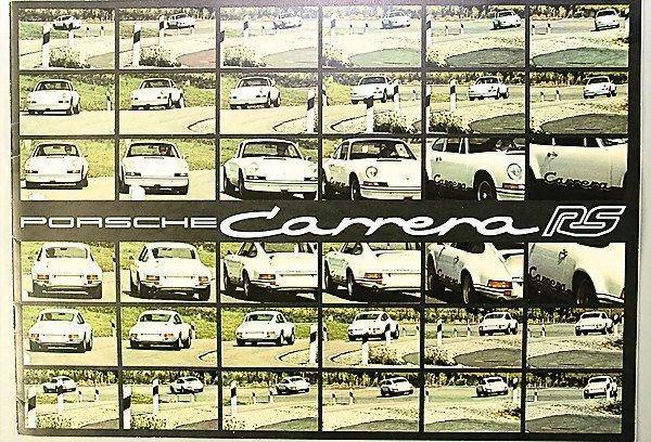 1607: Porsche I 1973, brochure, Carrera RS, 8 pages, co