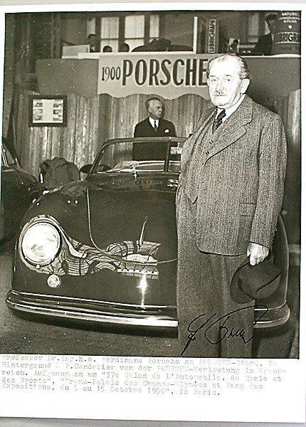 1616: PROF. DR. ING. H.C. FERDINAND PORSCHE original b/