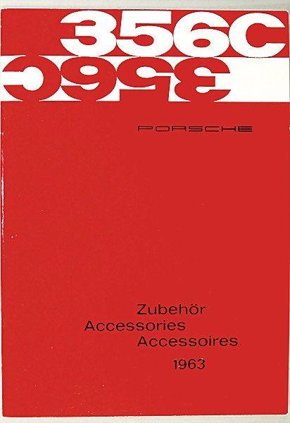 1623: PORSCHE 356 C, catalog, accessories, 1963, 26 pag