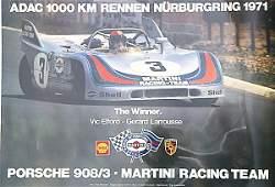 2127: Nürburgring Porsche 908/3 Martini Racing Team, po