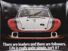 "PORSCHE original advertisement poster ""There are"