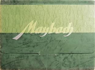 MAYBACH sales catalog Maybach type SW38, 3.8Liter,