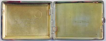 PHILIPP GRAF BOOS WALDECK cigarette case (alpacca
