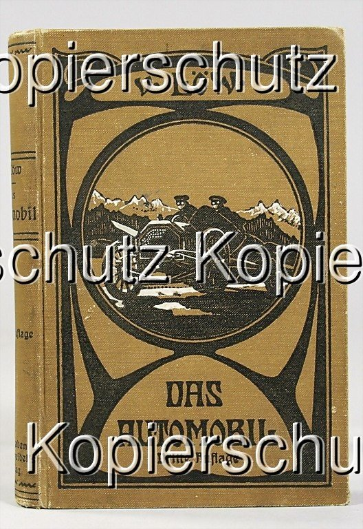 "11: book: ""Das Automobil"", by Löw, 3rd edition 1916, co"