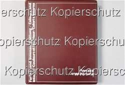 1736: PORSCHE D 1976, wine-red portfolio, paints and in