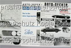 1875: 3x Auto Becker brochure, No. 1: Iso Grifo 7 litre