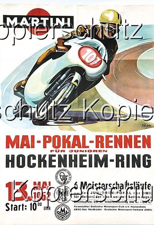 2181: poster,  Martini Racing 1962, May cup racing, (86