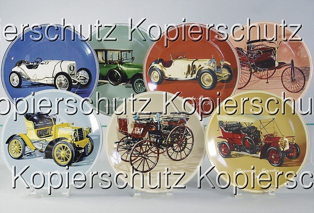 2218: MERCEDES-BENZ mixed lot of 7 limited collection-p