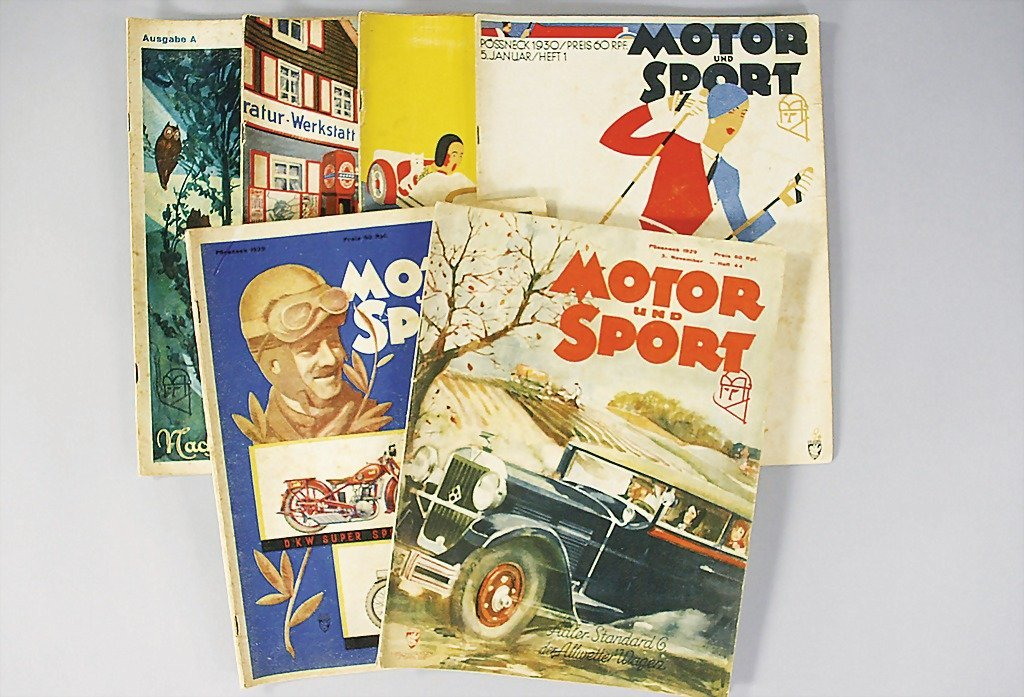 5: Motor & Sport mixed lot of 6 issues: year 1929, issu