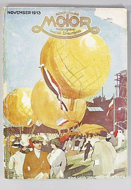"9: magazine ""Motor"" (publisher Gustav Braunbeck), editi"