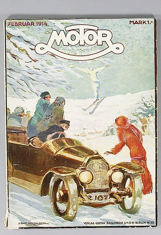 "10: magazine ""MOTOR"" magazine ""Motor"" (publisher Gustav"