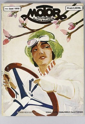 "Magazine ""Motor"" (publisher Gustav Braunbeck), Edit"