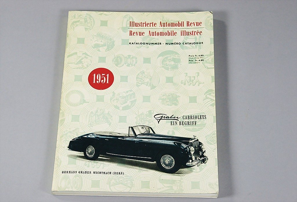 19: Illustrierte Automobil Revue, catalog No. 1951, ver