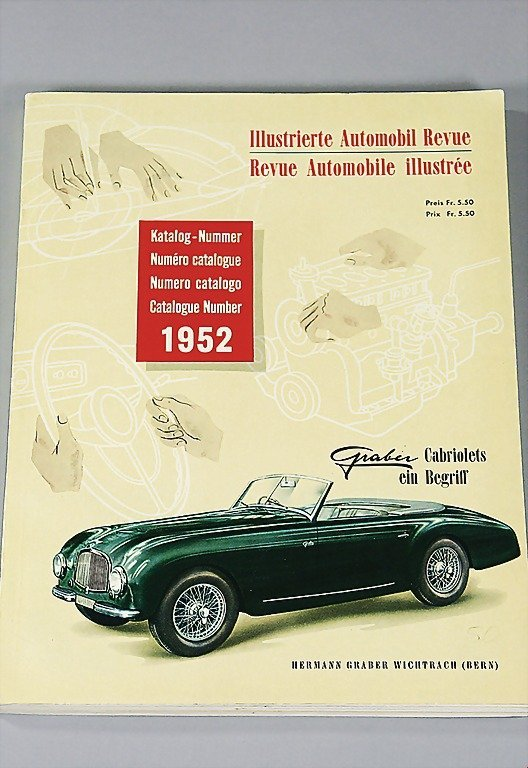 20: Illustrierte Automobil Revue, catalog No. 1952, ver