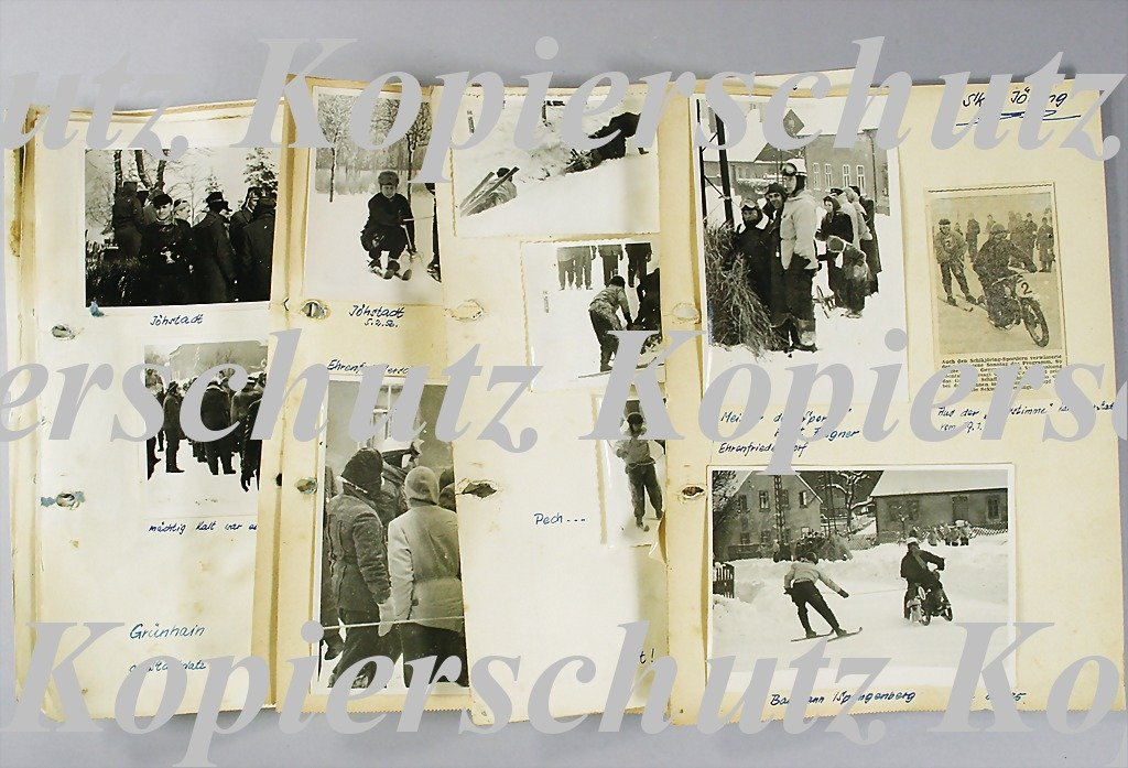 29: SKI-JÖRING 1956 snow race with all in all 26 origin