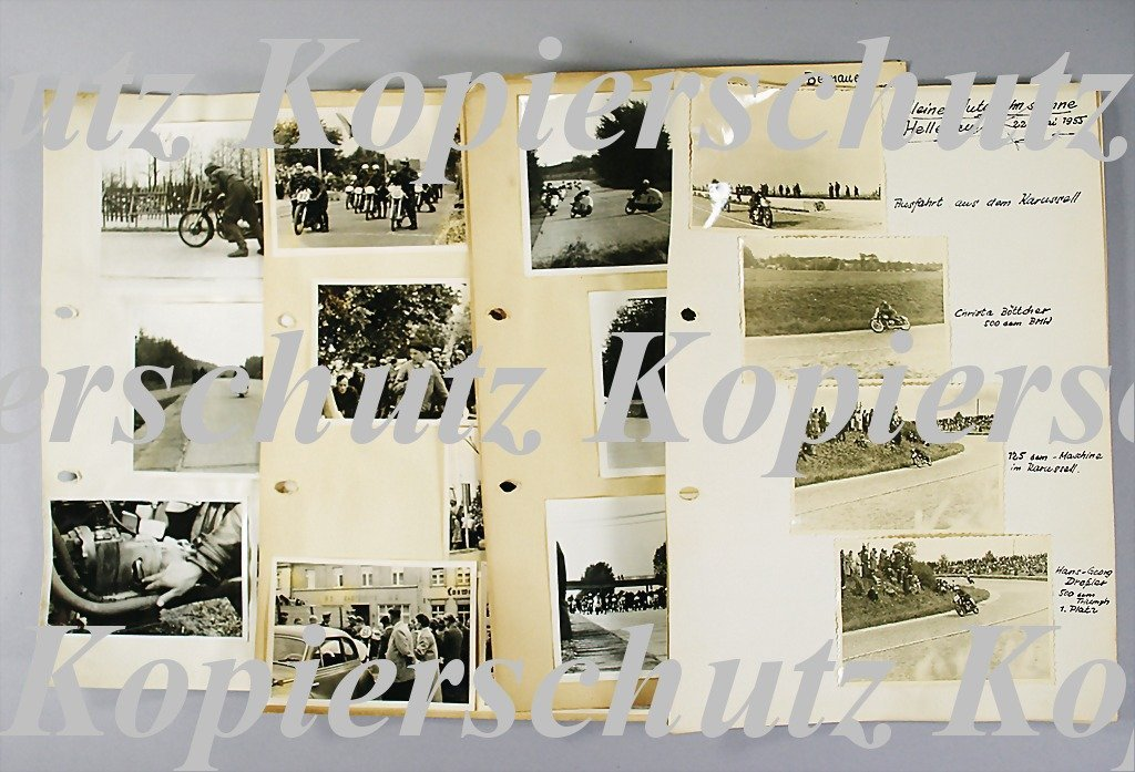 31: mixed lot of motorbike racing photos, all in all 27