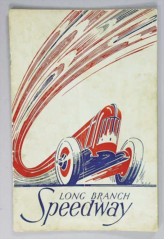 33: programme Long Branch Speedway 1937   German:   Ren
