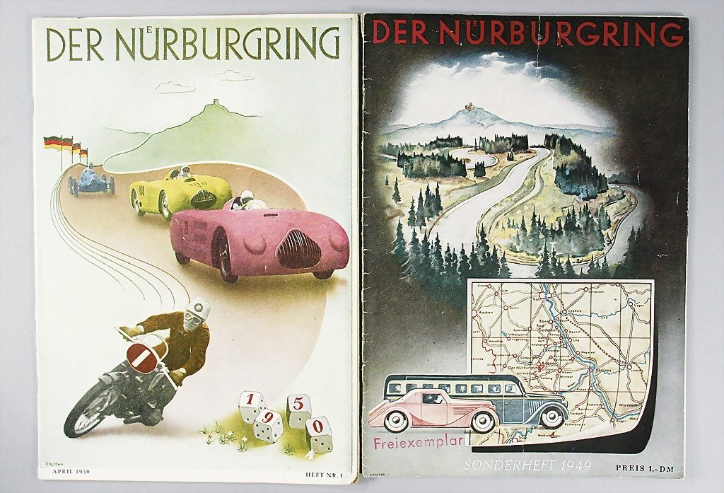 """39: magazine """"Der Nürburgring"""", special issue 1949, and"""
