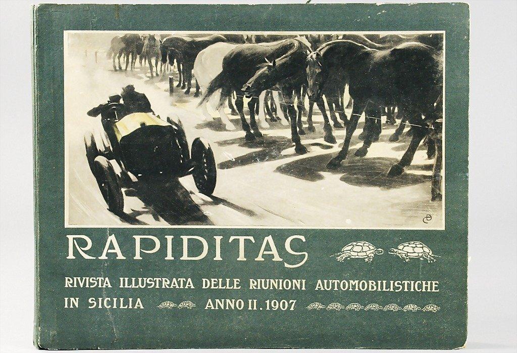 41: RAPIDITAS 2nd TARGA FLORIO 1907, Anno II 1907, Targ