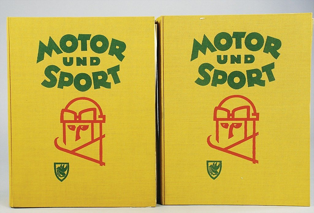 """42: magazines """"Motor und Sport"""" completely year from 19"""
