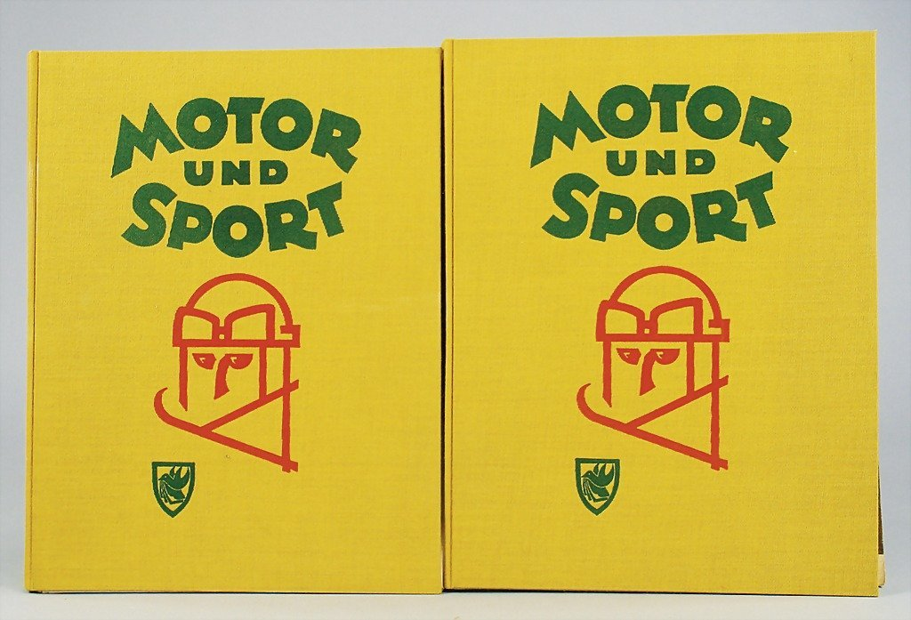 """43: magazines """"Motor und Sport"""" completely year from 19"""
