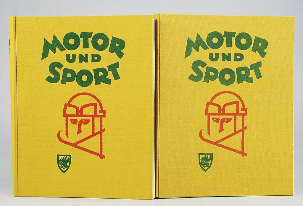 """44: magazines """"Motor und Sport"""" completely year from 19"""