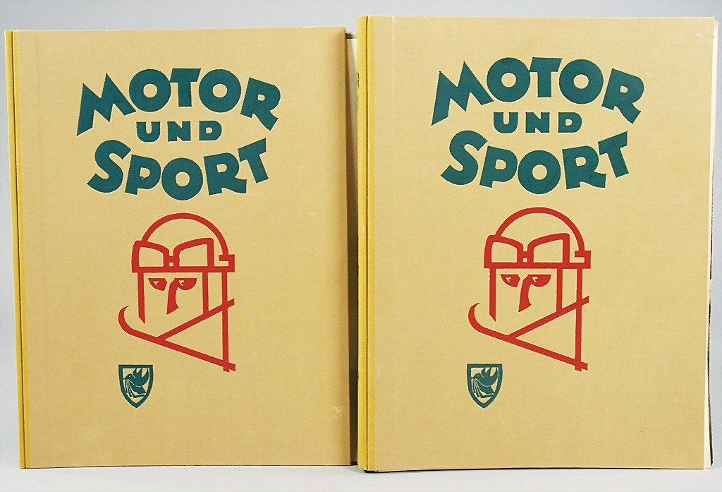 """46: magazines """"Motor und Sport"""" completely year from 19"""