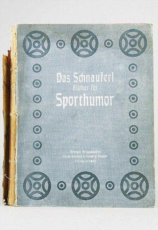 """48: magazine """"DAS SCHNAUFERL- BLÄTTER FÜR SPORTHUMOR"""" y"""