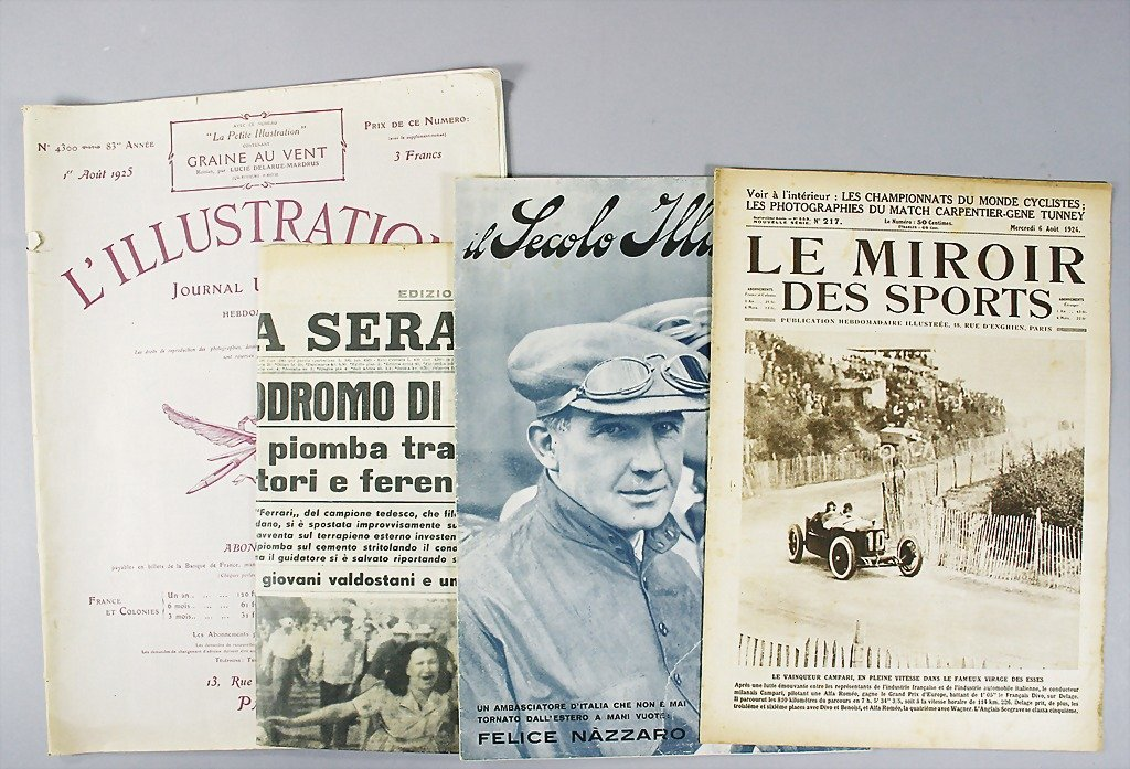 49: mixed lot of 4 magazines; 1x magazine, Il Secolo Il