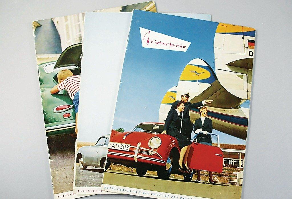 """101: PORSCHE magazine """"Christophorus"""", year 1959, issue"""