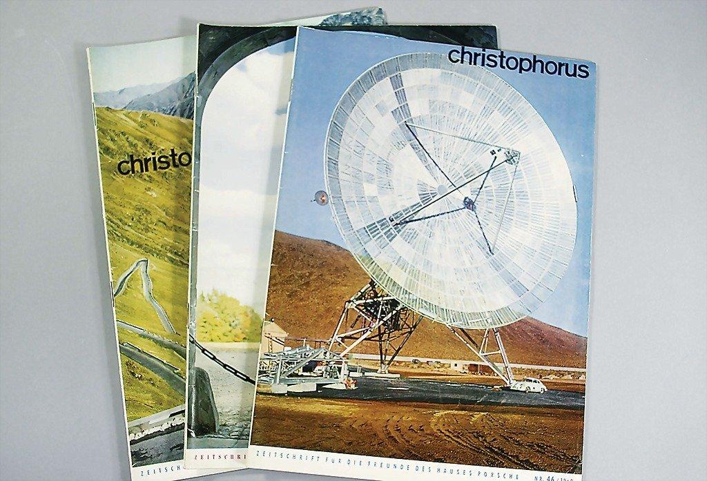 "103: PORSCHE magazine ""Christophorus"" year 1960, No. 45"