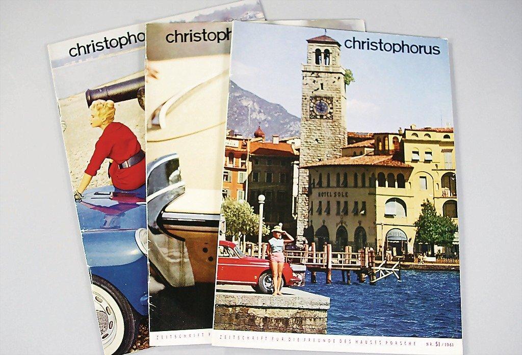 "105: PORSCHE magazine ""Christophorus"" year 1961, No. 51"